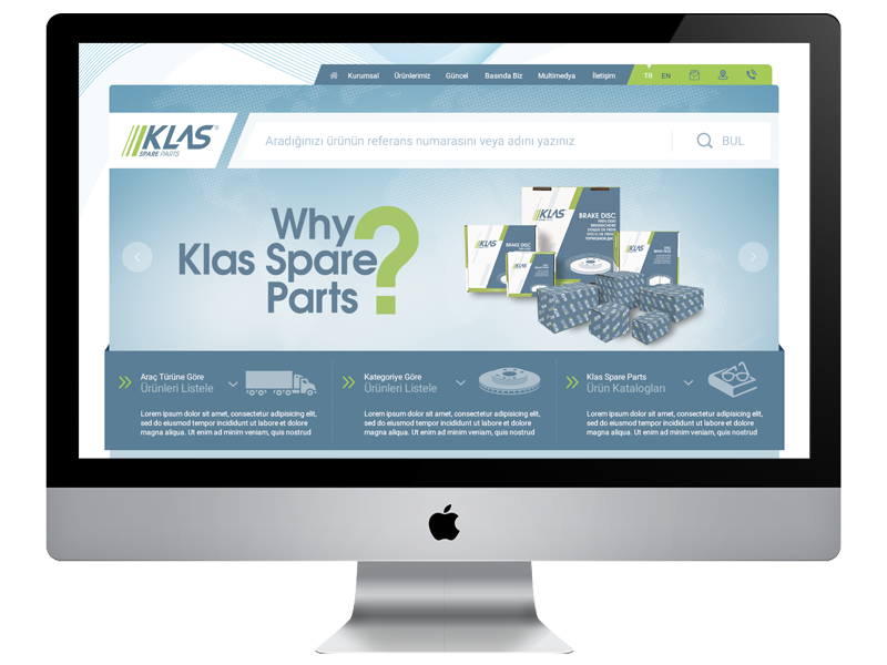 Klas Spare Parts new website is Online